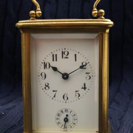 Kast carriage clock voor